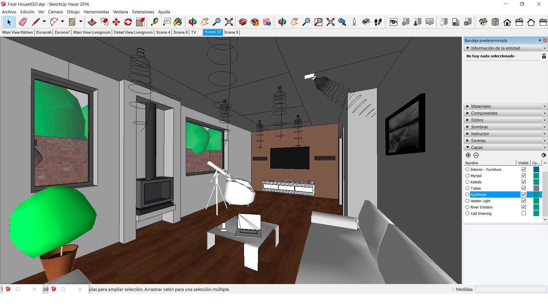 3d visualization services on:light design services