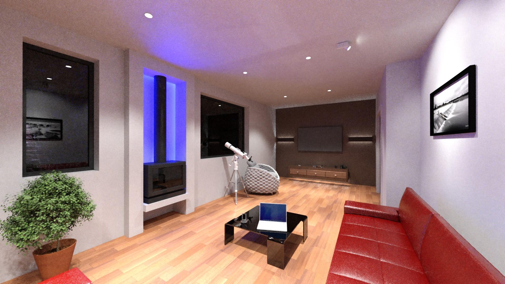D visualization services on light design services