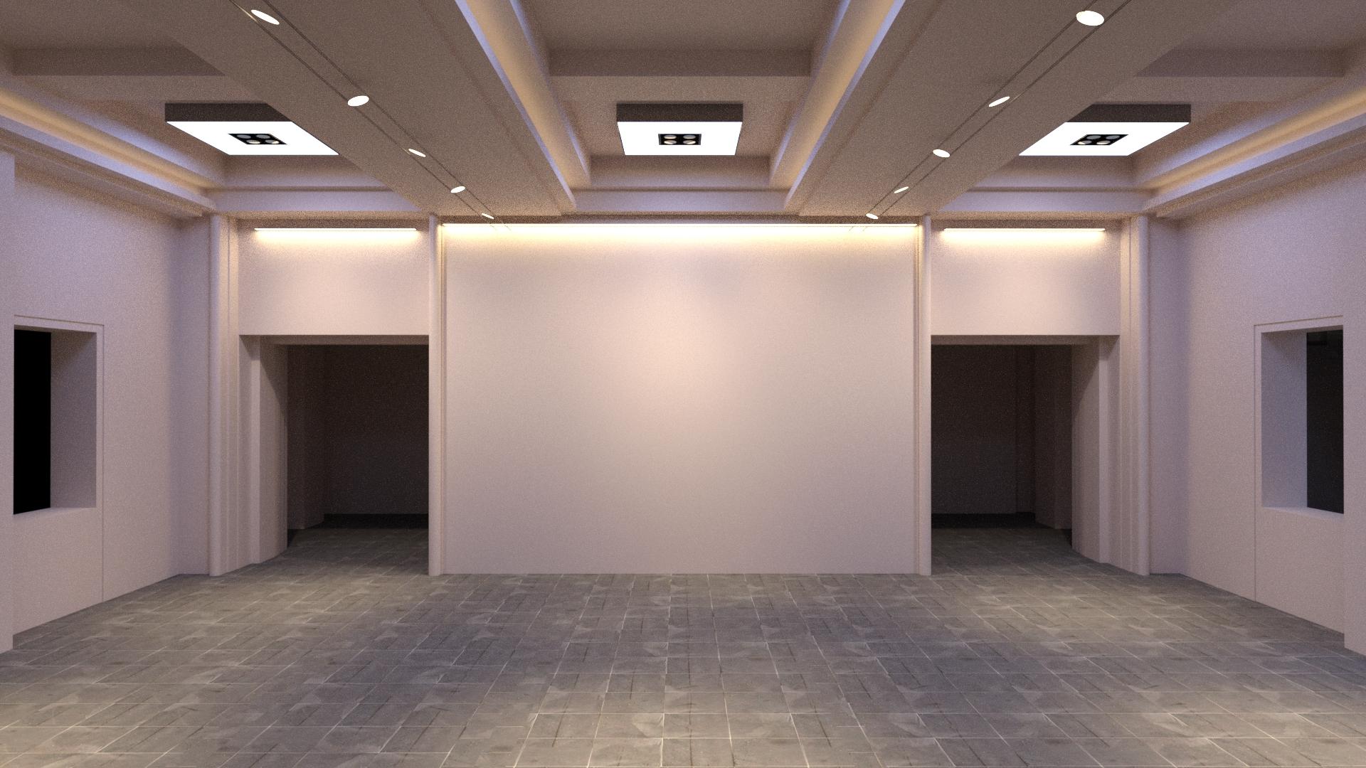 Wall wash option u on light design services